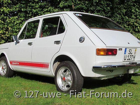 Fiat 127, 4-türig