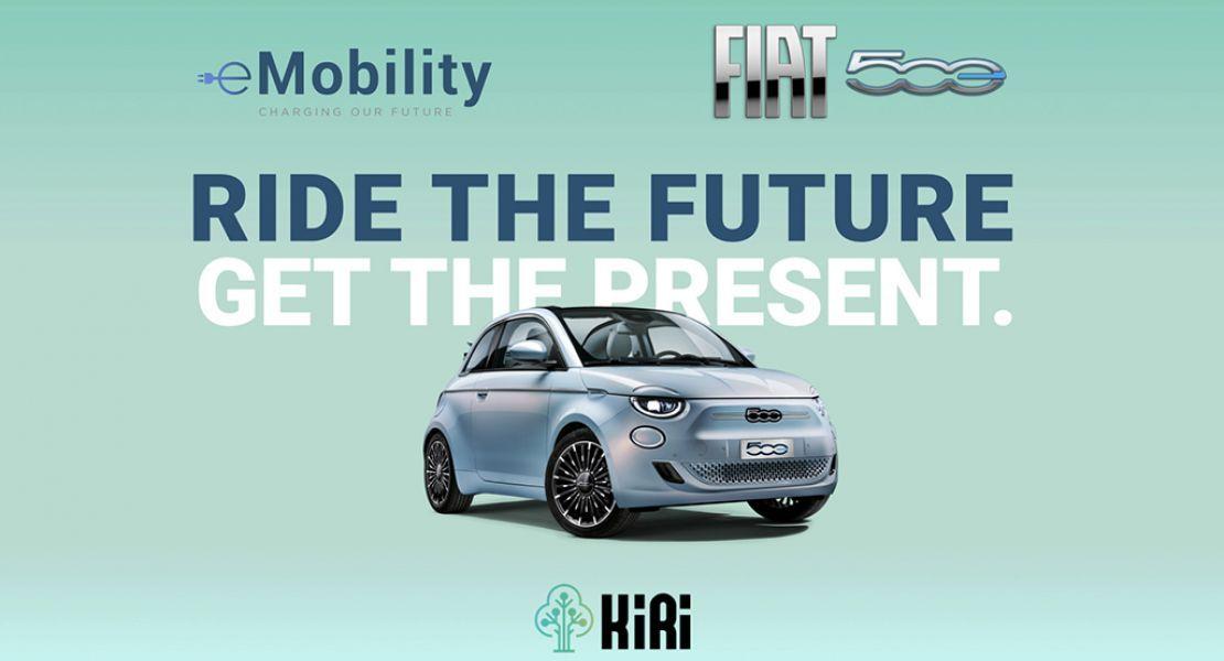 e-Mobility by Stellantis und KIRI Technologies präsentieren einzigartiges Projekt: Fahrer des neuen Fiat 500 werden für umweltbewusste Fahrweise belohnt